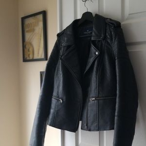 American Eagle Moto Leather Jacket